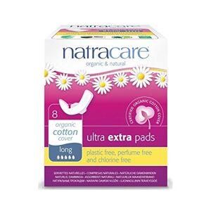 Natracare Organic Cotton Ultra Extra Pads 8 Long - Publicité