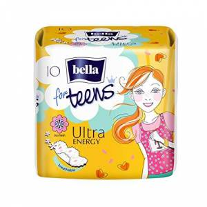 Bella for Teens Ultra Energy (1x10 protections hygiéniques) - Publicité