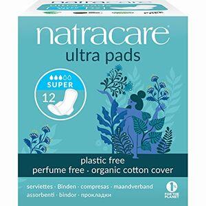 Natracare Organic Cotton Ultra Pads 12 Super Flow - Publicité