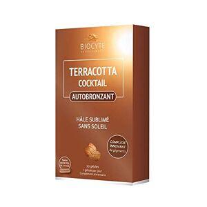 Biocyte Terracotta Auto Bronzant Pour un hâle sublimé et sans soleil Cocktail Multi-Vitamines et Minéraux 30 Gélules - Publicité
