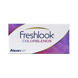 Freshlook Colorblends Boîte de 2 Lentilles de Couleur Bleu Passion-sans correction - Publicité