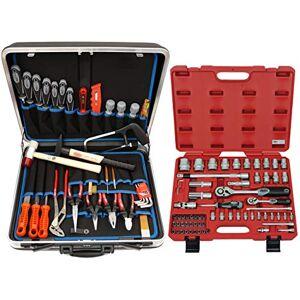 FAMEX 620-09 Coffret d'outils complet de qualité supérieure 66 pices dans mallette multi-compartiments 32 l (Import Allemagne) - Publicité
