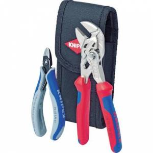 KNIPEX Jeu de pinces pour colliers de serrage 00 19 72 V01 - Publicité