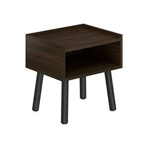 Amazon Basics Movian Dropt Table de chevet, 45x37x47cm, Marron - Publicité