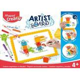 MAPED Creativ - Créations Magnétiques et Effaçables Monstres - Loisirs Créatifs enfants - Ardoise Effaçable à Sec