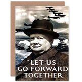 Wee Blue Coo Carte de vœux War Churchill Winston de la Seconde Guerre Mondiale