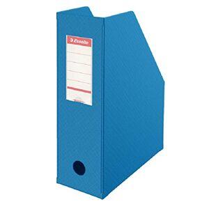 Esselte , porte-revues PVC, Dos de 10 cm, A4, Bleu, 56075 - Publicité