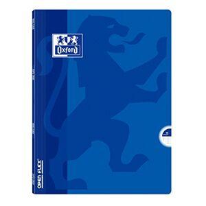 Oxford OpenFlex Cahier Seyès polypro A4 96 pages 21 x 29,7 cm Bleu - Publicité