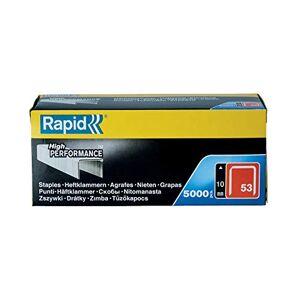 RAPID 53/10mm Galva Bote de 5000 Agrafes - Publicité