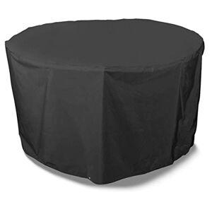 Bosmere D540 Storm Black Housse pour Table de Jardin de 4 Places Rond Noir 71 cm - Publicité