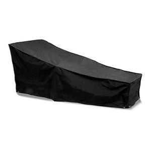 Bosmere D565 Storm Black Housse pour Chaise Bain de Soleil Noir 175 x 76 cm - Publicité