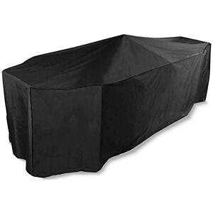 Bosmere D525 Storm Black Housse pour Salon de Jardin de 4 Places Rectangulaire Noir 215 x 173 x 90 cm - Publicité