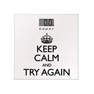 BEPER 40.821pèse-personne Keep Calm - Publicité