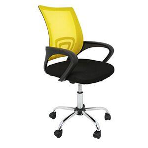 La Silla Española La Chaise Espagnole Ribadeo Chaise de bureau sans repose-tête , Polyester et dossier en maille, Jeune - Publicité