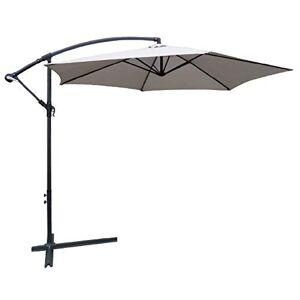 Chalet-Jardin COLLIOURE Parasol Deporte, Gris - Publicité