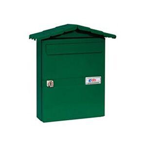 BTV m27530Bote aux lettres extérieure Chalet Vert - Publicité