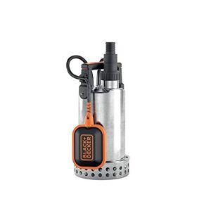 Black & Decker BXUP750XCE Pompe Submersible Eaux Claires (750 W, Débit max. 11000l/h, Hauteur d'élévation 8.5m) - Publicité