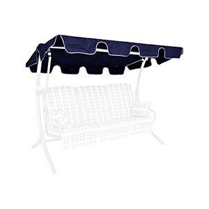 Angerer Toit balancelle Universelle, qualité Polyester, Couleur Bleu - Publicité