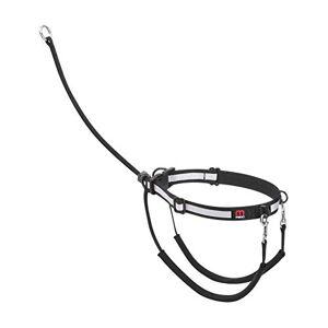 Mikki Harnais de dressage anti-traction Avec collier réfléchissant Taille XL - Publicité