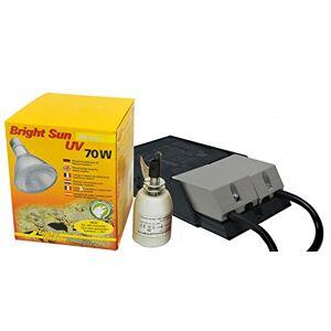 LUCKY REPTILE Bright Sun UV Desert Lampe chauffante aux halogénures métalliques avec culot et Ballast compatibles, kit Complet - Publicité
