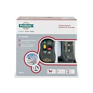 PetSafe Collier de Dressage Gros Chien avec Télécommande Ecran Digital 16 Niveaux de Stimulation Mode Signal sonore seul Portée 100 m - Publicité