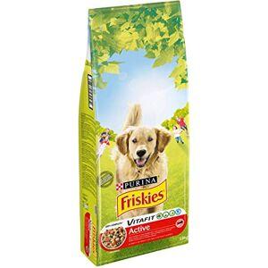 Friskies Chien Purina Friskies Active au Bœuf Croquettes pour Chien, 18kg - Publicité