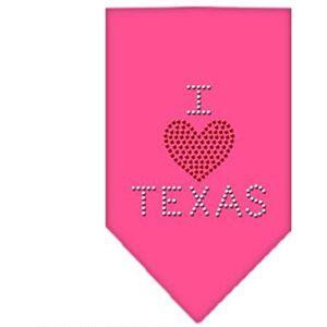 Mirage Pet Products Mirage I Heart Texas Strass Bandana - Publicité