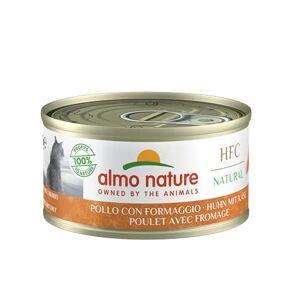 almo nature Bote : Poulet Avec Fromage 70g x 24 - Publicité