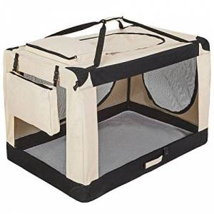 Helloshop26 Cage de Transport Sac/Panier/Caisse pour Chien 121 x 77 x 79 cm - Publicité