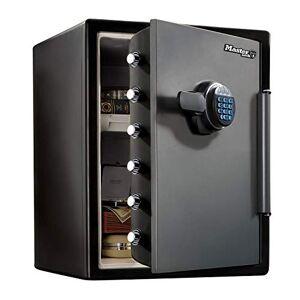 Master Lock Coffre-fort [Ignifuge et Etanche] [XXL 56,6L] [combinaison électronique] LFW205FYC Pour vos documents d'identité, documentsA4, ordinateurs portables, bijoux - Publicité