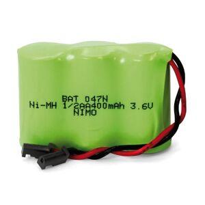 NIMO Pack de batteries 3,6 V/400 mAh Ni-MH. Publicité