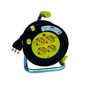 kippen 4032 4032 Enrouleur de cble avec disjoncteur thermique de protection, longueur 15 m - Publicité
