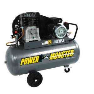Monster Cable Power Monster 425193 Compresseur 100 L 3 hp mono - Publicité
