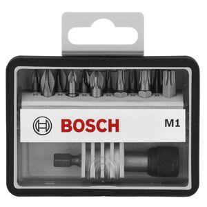 """Bosch 2 607 002 563 / Robust Line Coffret d'embouts """"M Extra Hart"""" 25 mm 12+1 pices - Publicité"""