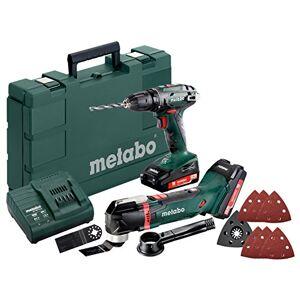Metabo combo Set 2,6.1 *BS 18 V Li MT (2 x 2 combo-) 0 Ah et chargeur de batterie - Publicité