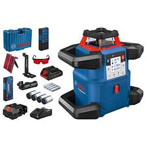 Bosch 18V System Laser rotatif GRL 600 CHV 18V (1 batterie 18V, 4Ah + chargeur, connecté, 600m, coffret de transport) - Publicité