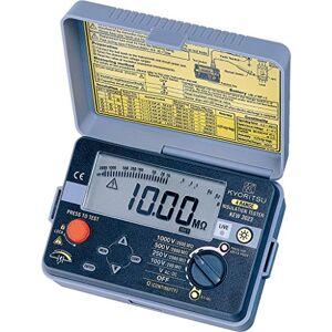 VEMER Kyoritsu KEW 3023Jauge de la résistance d'isolement et test continuité avec indicateur numérique rétroéclairé, gris - Publicité
