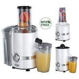 Russell Hobbs 22700-56 Centrifugeuse, Presse Agrumes, Blender 700ml, Smoothie et Jus de Fruits ou Légumes Naturels