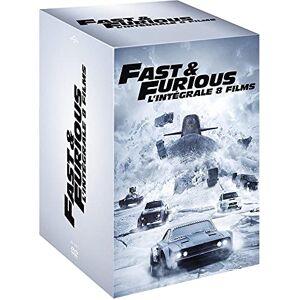 Fast and Furious L'intégrale 8 films [DVD + Copie digitale] - Publicité