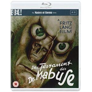 Das Testament des Dr. Mabuse (Fritz Lang) (2 Blu-Ray) [Edizione: Regno Unito] [Import] - Publicité
