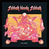 Black Sabbath ACPPR48031 Objet Souvenir, Contreplaqué, Multicolore, 31,5 x 31,5 cm