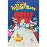 Unique Alice in Wonderland Steel Sign