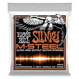Ernie Ball Cordes pour guitare électrique Ernie Ball Hybride Slinky M-Steel - calibre 9-46