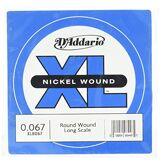 D'Addario XLB067 Corde Basse Nickel .067