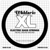D'Addario Corde seule en nickel pour basse D'Addario SXL070, extrémités à boules, corde longue, .070