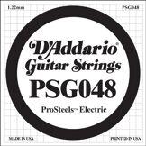 D'Addario Corde seule pour guitare électrique D'Addario ProSteels PSG048, .048