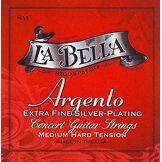 La Bella Labella ASPMT Jeu de Cordes pour Guitare Classique Medium Tension