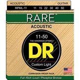 DR String RPML-11 Rare Jeu de cordes pour guitare acoustique