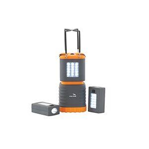 Easy Camp Sinai Lanterne Mixte, Grau/Weiss/Orange, Taille Unique - Publicité