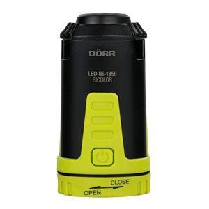Drr 980546LED Outdoor Lanterne Bicolore 1350, LED Blanches Bi CREE Plus 2LEDs Rouges, 115lumens, intensité Variable Noir/Jaune Fluo - Publicité